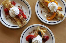 Hybrid Streusel Crepes - IHOP Adds a Hybrid Fruity Breakfast Meal to Its Menu for Fall