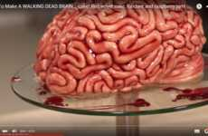This Red Velvet Brain Cake Takes Halloween Baking to New Extremes