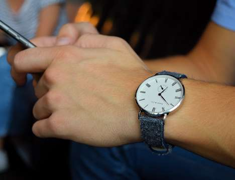 Chic Scratch-Proof Timepieces - Parr & Co. Watches are Unisex and Impossible to Scratch