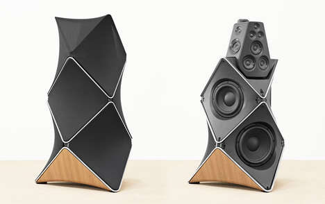 Sky Scraper-Inspired Speakers - The Bang & Olufsen Beolab 90 is Crafted to Absolute Perfection