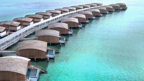 Solar-Powered Luxury Hotels - The Finolhu Villas Are Located On An Exclusive Island In the Maldives