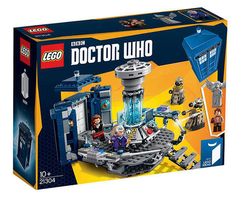Sci-Fi Building Block Sets - The LEGO Doctor Who TARDIS Kit is Perfect for Fans of the Franchise