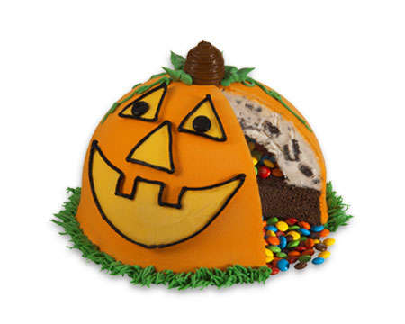 Candy-Filled Pinata Cakes - This Pumpkin-Shaped Cake is Filled with Sweet Treats