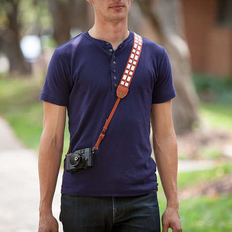 Intergalactic Camera Accessories - This Star Wars Chewbacca Camera Strap is for Wookies of All Kinds
