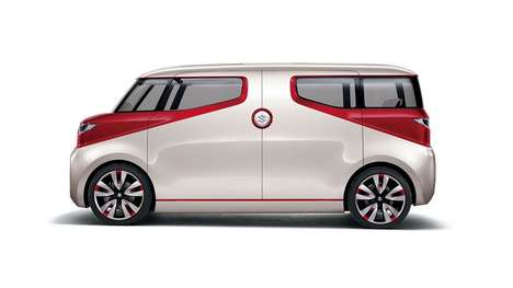 Modern Multimedia Minivans - The Suzuki Air Triser Lets Occupants Play Media Via Mobile Devices