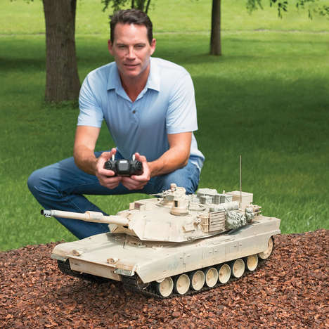Realistic Military Toys - This Remote Controlled Abrams Tank is For Adults Who Love to Play