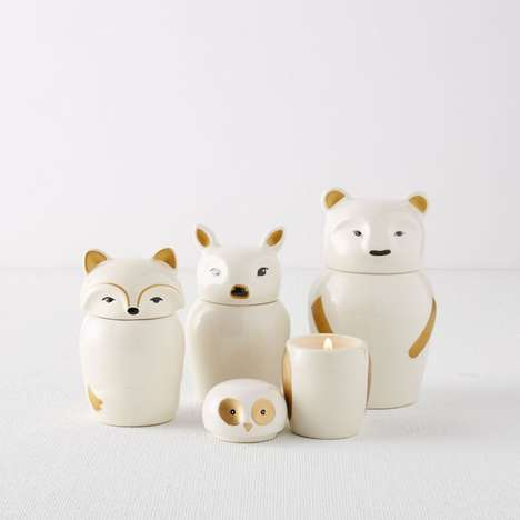 Animalistic Toy Candles - These Nesting Doll Scented Candles are Cute, Contemporary and Smell Great