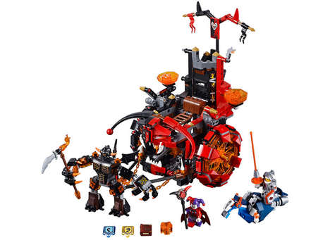 Futuristic Medieval Toys - LEGO's Nexo Knights Collection Creates a World of Robots and Castles