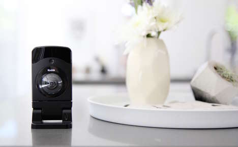 Cloud-Connected Surveillance Cameras - This Kodak Camera is Designed To Keep Tabs On Your Home