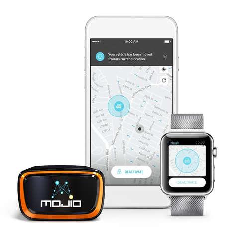 Smart Vehicle-Tracking Accessories - The Mojio Car Monitoring System Lets You Keep Tabs on Your Ride