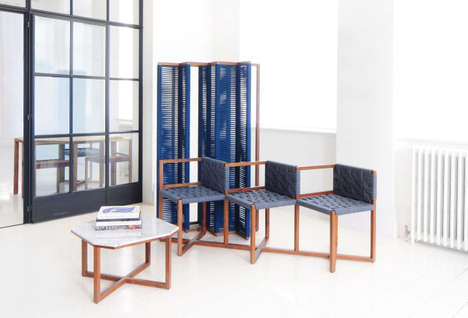 Quirky Corner Furniture - The Efasma Collection Fits Perfectly Into Unique Configurations