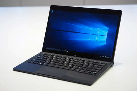 Detachable Laptops - The New Dell XPS 12 Features a 2-in-1 Detachable Design