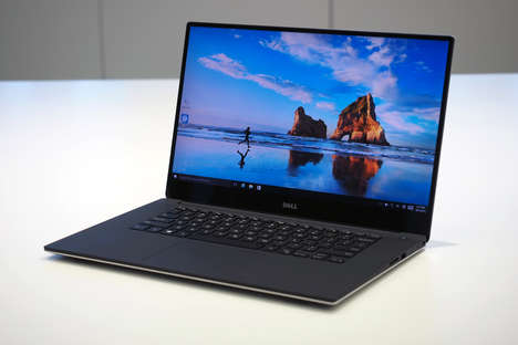 Compact High-Performance Laptops - The Dell XPS 15 is the World's Smallest 15-Inch Laptop