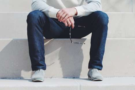 Comfort-Focused Denim - These Loose-Fitting Jeans Allow for Extra Room in the Crotch