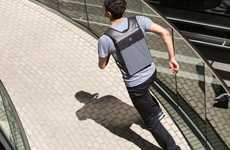 Ultra-Slim Backpacks - This Slim Backpack Can Easily Be Concealed Underneath a Jacket or Sweater
