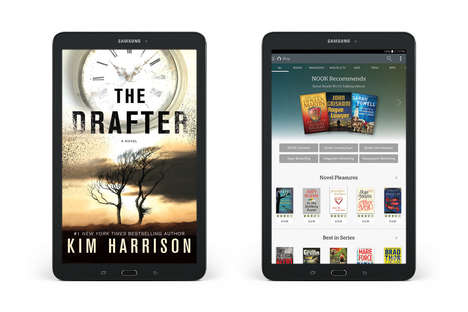 Bookworm-Friendly Tablets - The Galaxy Tab E Nook Lets You Access Barns & Noble's Online Library
