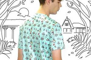 This Studio Ghibli Clothing Line Uses Images from Six Famous Animated Films