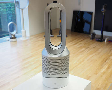 Bladeless Air Purifiers - The Dyson Pure Hot + Cool Purifies Your Air and Can Heat Up Your Room