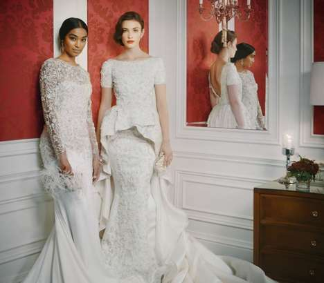 Metropolitan Bridal Couture - St. Regis x Marchesa Gowns are Inspired by Universal St. Regis Hotels