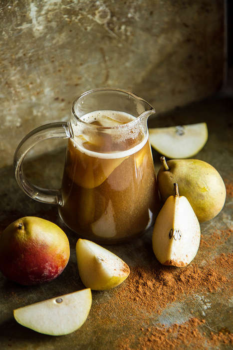 Spiked Pear Ciders - This Bourbon Spiced Pear Drink is Ideal for Cooler Autumn Days