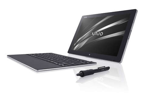 Convertible Creative Laptops - The Vaio Z Canvas is Targeted Towards Artists and Photographers