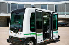 Driverless Shuttle Services - This Fleet of Autonomous Shuttles Helps Transport Commuters
