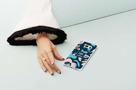 Co-Branded Phone Protectors - The Opening Ceremony x Samsung Collection Glamorizes Your Android