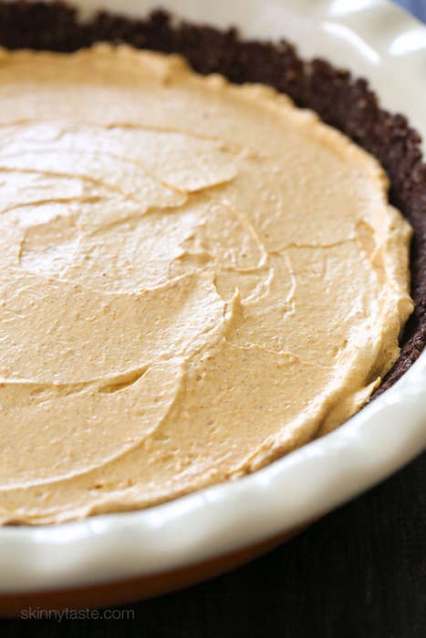 No-Bake Autumnal Cheesecakes - This Healthy Cake Recipe Requires Chilling Rather than Baking