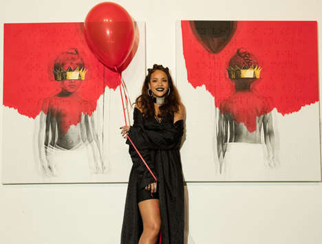 Braille Album Covers - Rihanna's New Album Art Can Be Experienced by Sight-Impaired Fans