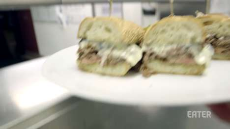 Pricey Philly Cheesesteaks - The Barclay Prime Offers a Divine Philly Sandwich for $120 Per Order