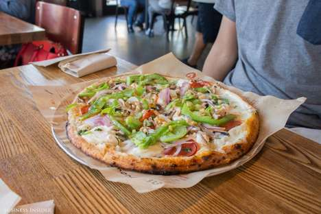 Personalized Pizza Bars - Blaze Pizza Builds and Cooks Custom Fast-Fired Pizzas On the Spot