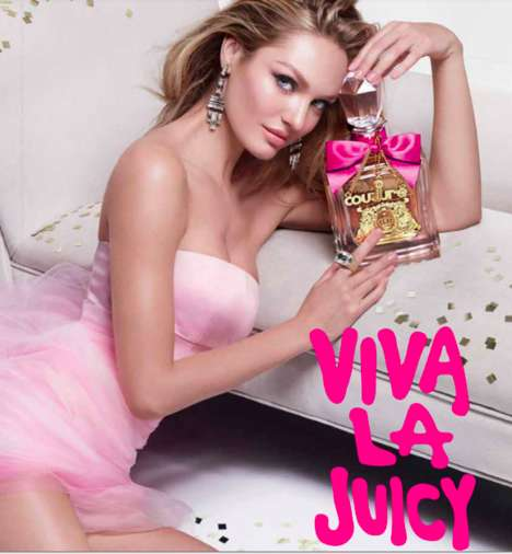 Supermodel Fragrance Campaigns - The Latest Ads for Viva La Juicy Stars Model Candice Swanepoel