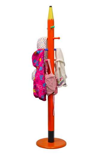 Stationary Clothing Stands - This Coat Rack is Designed to Look Like an Oversized Pencil