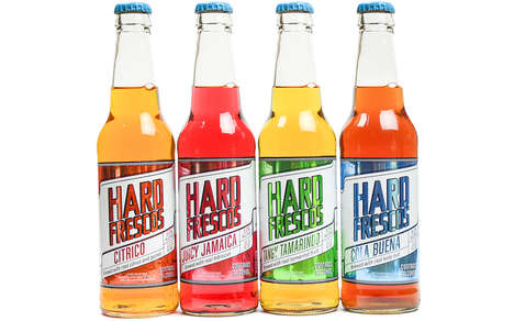 Boozy Mexican-Inspired Sodas - This Hard Soda is Is Designed to Taste Like Freshly Pressed Juice