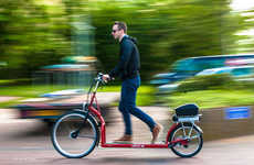 Treadmill-Embedded Bicycles - The Lopifit Provides an Unexpected Experience While Riding