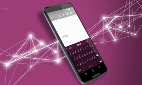 Artificial Intelligence Keyboards - The SwiftKey Neural Alpha App Predicts Words and Learns From Use