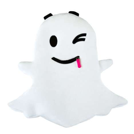 Social Media Logo Knapsacks - The Official Snapchat Backpack is Shaped Like the Brand's Ghostly Icon