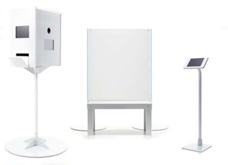 Modern Digital Photobooths - The Bosco Allows for Customized Ways to Capture Images or GIFs