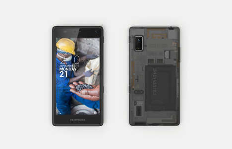 Conflict-Free Smartphones - The Fairphone 2 is a Responsible and Easily Repaired Handset