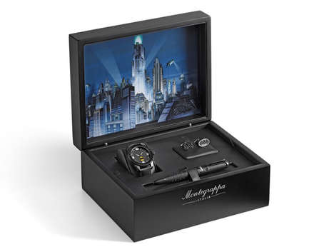 Heroic Boardroom Accessories - The 'Montegrappa' is a Batman-Themed Accessory Kit for Businessmen
