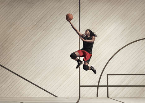 Gender-Inclusive Sports Gear - Nike Women's Basketball Collection Shows this Sector's Growth