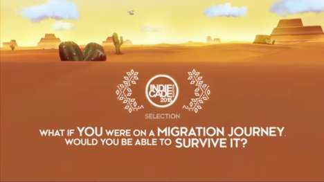 Migrant-Inspired Video Games - The 'Cloud Chaser' Game Leads Players on a Desperate Journey