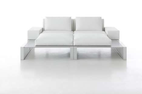 Sleek Modular Couches - This Reconfigurable Seating Unit Has Endless Possibilities