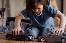Toy Car Crashing Ads - This Ad Features Children Being Annoyed at Toy Cars That Do Not Collide