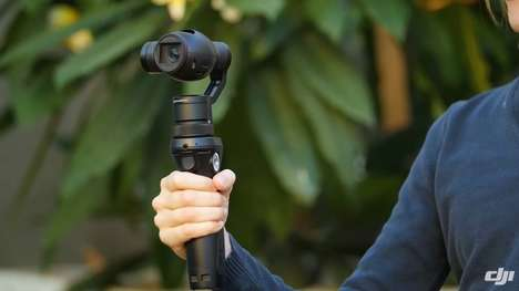 Stabilized 4K Cameras - The DJI Osmo Stabilizer Comes With a Zenmuse X3 Camera