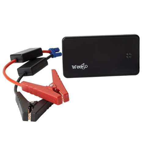 Backup Battery Auto Equipment - The Weego JS6 Jump Starter Standard Battery Boosts Your Car or Phone