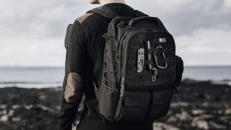 Urban Warrior Knapsacks - The Eshena Tactical City Pack Holds Everything Your Daily Life Requires