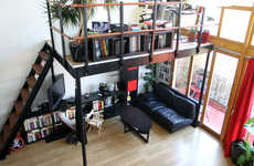 DIY Loft Kits - This Modular Micro Loft System is Easy to Install and Helps Maximize Space