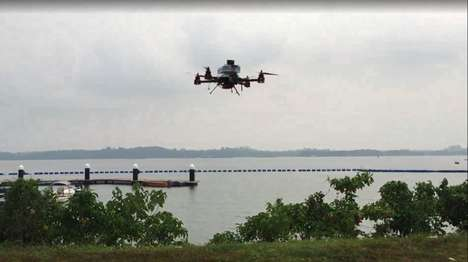 Island Drone Deliveries - Singapore Post is Testing Delivery By Drones On Its Islands