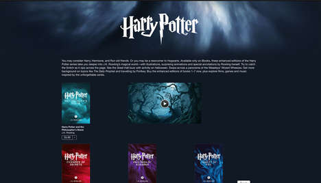 Illustrated Fantasy E-Books - These Illustrated Harry Potter E-Books Are Available On iBooks